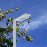 All in one solar street light 6W