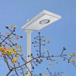All in one solar street light 8W/12w