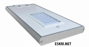Lampu jalan all in one GC-118C-S 18Watt eskri.net
