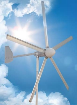 Small Wind Turbine EWTH 500W-A