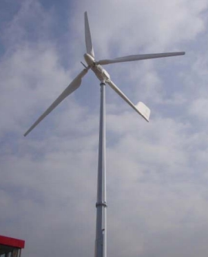 Small wind turbine EWTH 10KWP