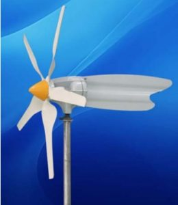 Small wind turbine EWTH 400W-C