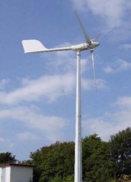 Small wind turbine EWTH 5KWP