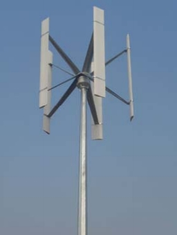 Small wind turbine EWTV 1KW-H