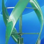 Small wind turbine EWTV 300W-S