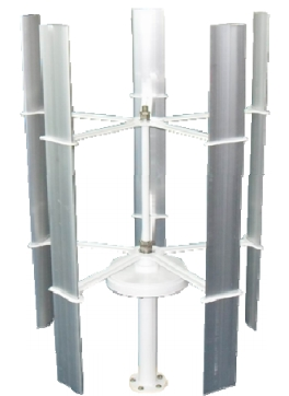 Small wind turbine EWTV 75W