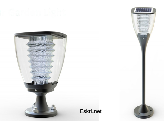Solar Garden Light ESL-15,25 eskri.net