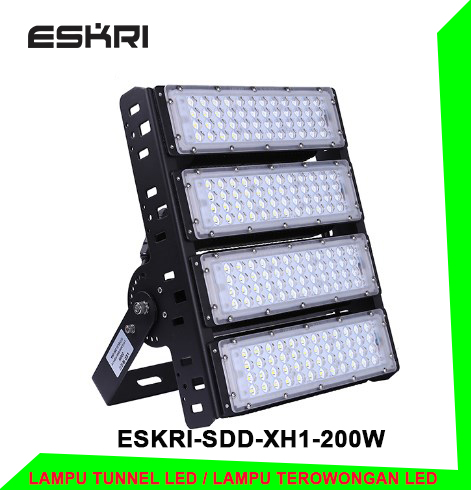 Jual led tunnel light murah berkualitas 200 watt ESKRI-SDD-XH1-200W